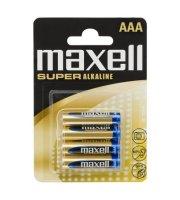 Mikroceruza elem AAA - LR03 XL Super Alkaline - 1,5V 4 db/bliszter