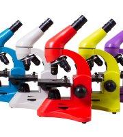 Levenhuk Rainbow 50L mikroszkóp - Különböző színekben