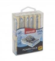 Mikroceruza elem 1,5V - AAA - LR3 power pack 24 db/csomag
