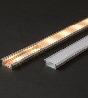 LED aluminium profil sín 2000 x 23(17) x 8 mm