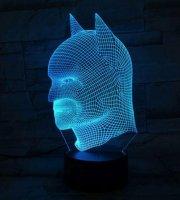 3D RGB LED világítás - különböző mintákban
