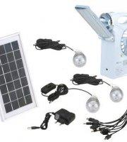 Többfunkciós SOLAR rádió, ventilátorral, lámpa funkcióval, USB kimenettel és lámpákkal