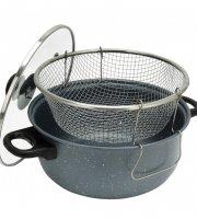 Iron line krumplisütő tapadásmentes bevonattal 3 részes 3,5 literes