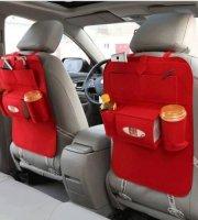 Autós tároló ülésre (Piros)