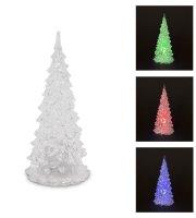 LED karácsonyfa 18 cm