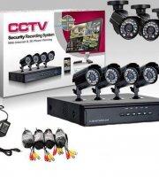 Online Megfigyelő központ, 8 kamerával