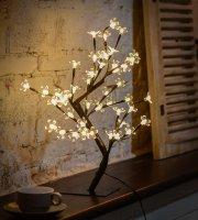 Sakura fa 20 LED-es