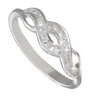 Ezüst gyűrű cirkóniával (ES1497P)