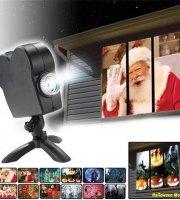 Window Projector - Vetítő rendszer beépített 12 db kisfilmmel