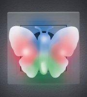 Színes LED irányfény Pillangó - 230 V