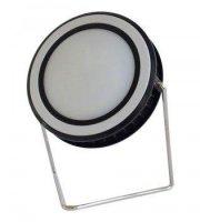 Kör alakú, 10 W napelemes LED lámpa