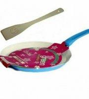 Kerámia bevonatos palacsintasütő 26cm  +  spatula