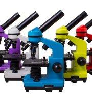 Levenhuk Rainbow 2L mikroszkóp - különböző színekben