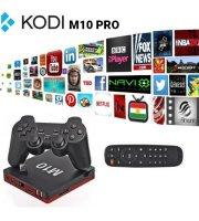 Kodi M10 PRO - Android TV Box, youtube, netflix alkalmazások, beépített játékokkal