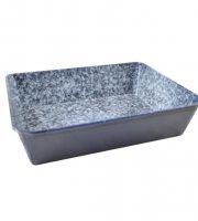 Zománc sütőtepsi 24x18 cm 14281