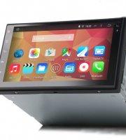 Androidos 7colos multimédiás rendszer + GPS Kerettel, Magyar