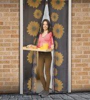 Szúnyogháló függöny ajtóra - Virágos