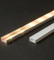 LED aluminium profil sín 2000 x 17 x 8 mm U profil
