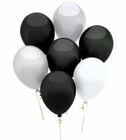 Lufi szett fekete-fehér 15 db/csomag