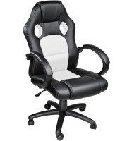 Gamer szék basic, Fehér