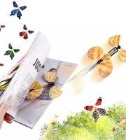 Mesebeli felröppenő pillangó -5db