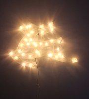 Karácsonyi LED ablakdekoráció - Rénszarvas