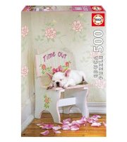 Educa Taking Time Out, Lisa Jane puzzle, 500 darabos