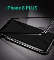 Mágneses, átlátszó Iphone telefontok iPhone 8 PLUS