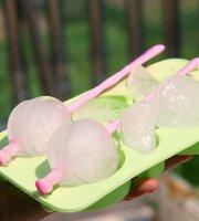 Jégnarancs készítő szett szilikon