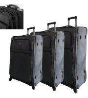 3 részes bőrönd szett, 4 kerekes