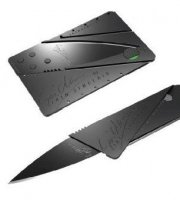Hitelkártya alakú kés