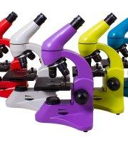 Levenhuk Rainbow 50L PLUS mikroszkóp - Különböző színekben