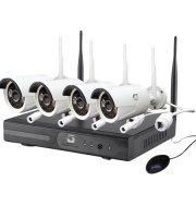 WIFIs komplett 4 kamerás megfigyelő
