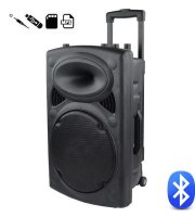 Hordozható Bluetooth aktív KARAOKE hangfal 600 W