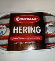 Contimax heringtörzs paradicsomos szószban, 170 g