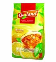 EKOLAND Instant tea utántöltő citromos 300 g