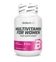 BioTech USA - Multivitamin for Women 60 tabletta