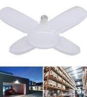 E27 Négyágú hajlítható energiatakarékos LED lámpa 60 W