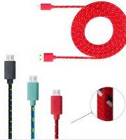 Extrém strapabíró 2 méteres micro-usb kábel
