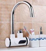 Kijelzős átfolyós vízmelegítő, falra szerelhető