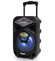 Bluetooth karaoke hangfal mikrofonnal és távirányítóval