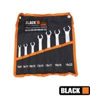 Black 7db-os fékcsőkulcs készlet