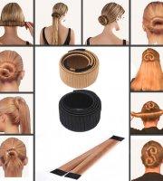 Konty készítő hajpánt, hajcsat Pezsgő szín