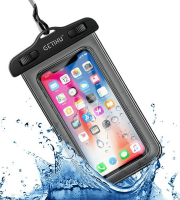 Vízálló telefontok, vízhatlan telefontok Fekete