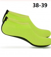 Vizicipő, tengeri cipő, úszócipő, fürdő cipő 38-39 Neonzöld