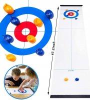 Mini curling játék készlet
