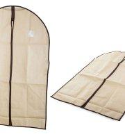 Ruha és öltönytartó, bézs színben 60x100 cm