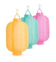 Szolár lampion - 3 színben - hidegfehér LED - 21 cm