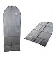 Ruha és öltönytartó, szürke színben 60x100 cm