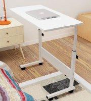 Composite fehér Laptop asztal 80*30 cm
